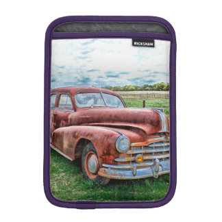 Oldsters Classic Car Vintage Automobile Old Rusty Sleeve For iPad Mini
