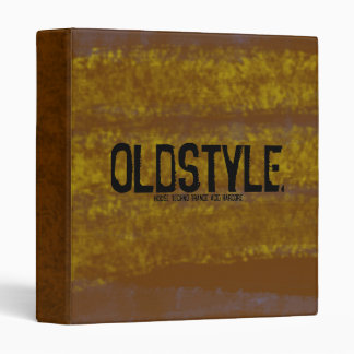 Oldstyle Binder (Limited Edition)