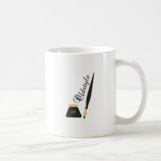 Oldstyle Classic White Coffee Mug