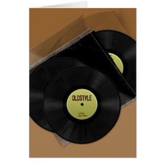 Oldstyle Vinyl Gift Card