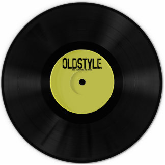 Oldstyle Vinyl Sculpture (Exclusive) Photo Sculpture