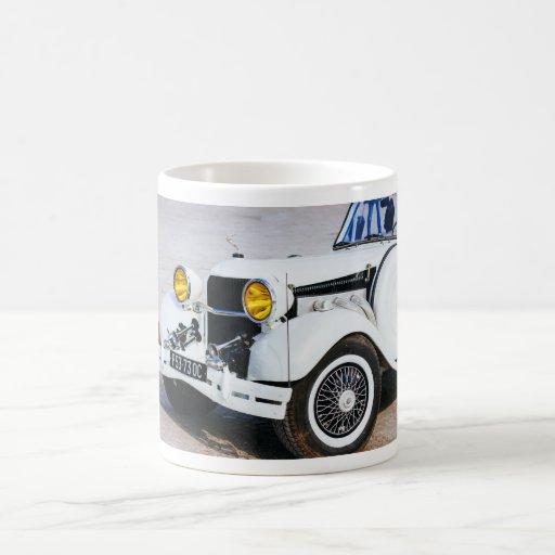 Oldtimer blanco taza