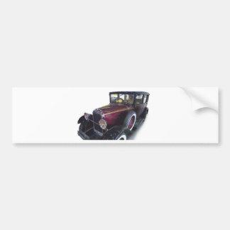 Oldtimer car bumper sticker