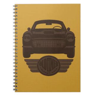 Oldtimer Car Notebook