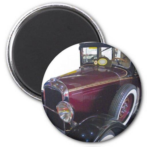 Oldtimer car refrigerator magnet