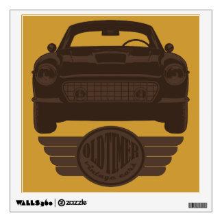 Oldtimer Car Wall Sticker