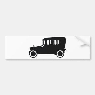 oldtimer classic car icon bumper sticker