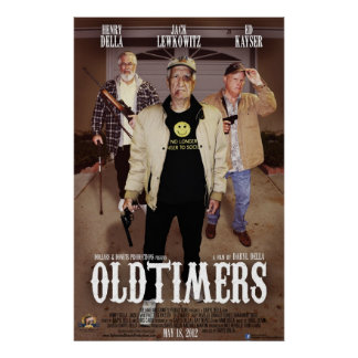 Oldtimers Poster