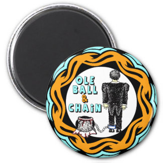 Ole Ball And Chain Magnet