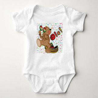 Ole! Bear Baby Bodysuit