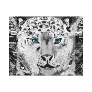 Ole Blue Eyes Canvas Print
