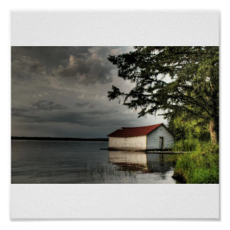 Ole Boathouse Print