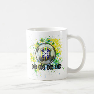 Ole Brazil Classic White Coffee Mug