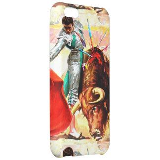 Ole! Bullfight Spanish Bull Fighter Vintage Poster iPhone 5C Case