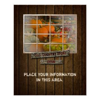 OLE COUNTRY STORE POSTER - SPACE AVAIL FYI