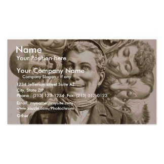 Ole Olsen by 'Gus. Heege' Retro Theater Business Cards