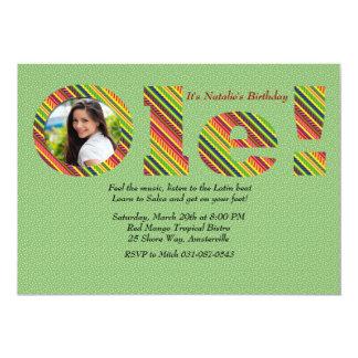 """Ole Photo Invitation 5"""" X 7"""" Invitation Card"""
