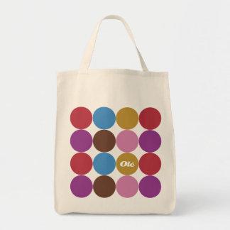 Olé Polka Dots Canvas Bag