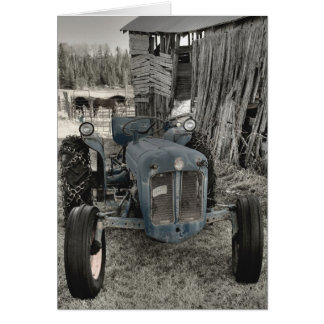 ole tractor card