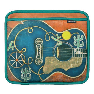 Ole Western Guitar iPad Sleeve