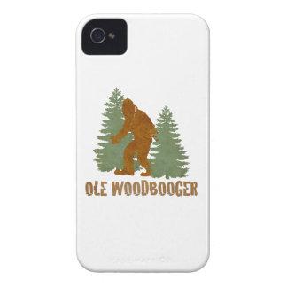 OLE WOODBOOGER Case-Mate iPhone 4 CASE