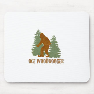 OLE WOODBOOGER MOUSE PAD