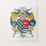 Olea Family Crest Puzzles
