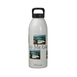 Oleada pacífica mexicana; Recuerdo de México Botella De Agua Reutilizable