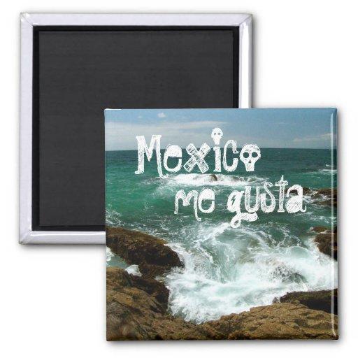 Oleada pacífica mexicana; Recuerdo de México Imán