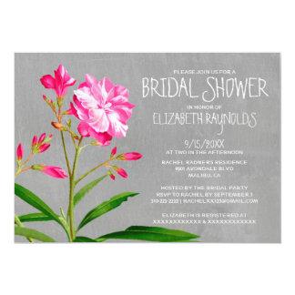 Oleander Bridal Shower Invitations