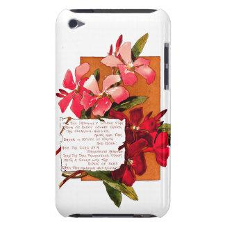 Oleander Flowers Bermuda Island Floral Poem iPod Case-Mate Case