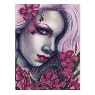 Oleander Pink Pretty Poisons Postcard