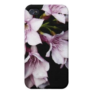 - Oleander rosado iPhone 4/4S Carcasas