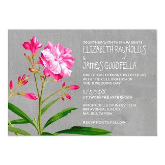 Oleander Wedding Invitations