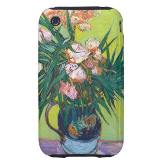 Oleanders de Van Gogh Tough iPhone 3 Carcasas