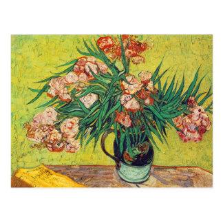 Oleanders Print by Vincent van Gogh Postcard
