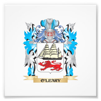 O'Leary Coat of Arms - Family Crest Photographic Print