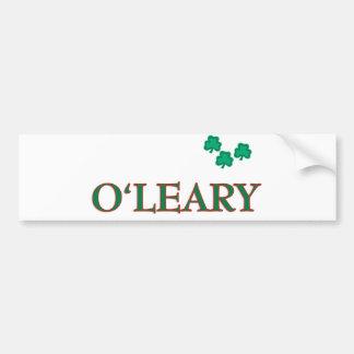 O'Leary Family Bumper Sticker