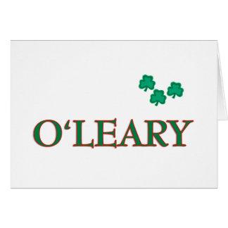 O'Leary Family Card