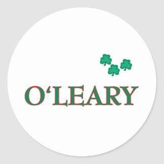 O'Leary Stickers