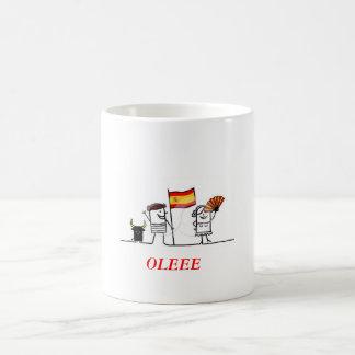 OLEEE CLASSIC WHITE COFFEE MUG