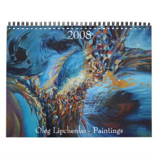 Oleg Lipchenko - Calendar 2008