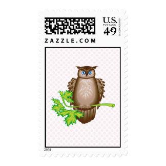 Oleg Owl Stamps