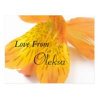 Oleksa Postcard