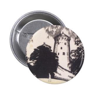 Oleksandr Bogomazov- Female silhouette Button