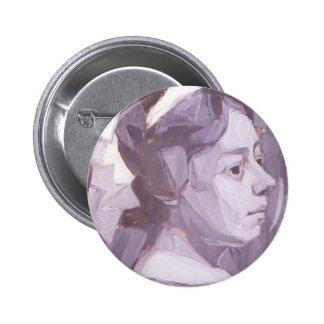Oleksandr Bogomazov- Portrait of wife Button
