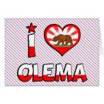 Olema, CA Felicitación