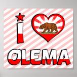 Olema, CA Poster