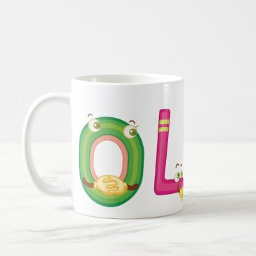 Beach Themed Olen Mug