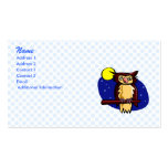 Olen Owl Double-Sided Standard Business Cards (Pack Of 100)